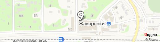 Шановный на карте Жаворонков