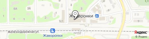 Рынок на карте Жаворонков