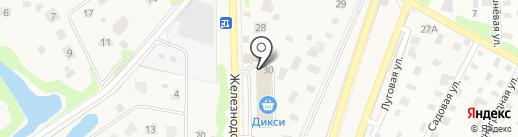 Дикси на карте Жаворонков