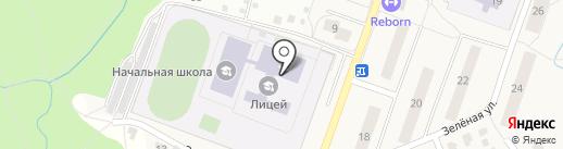 Голдстар на карте Дедовска