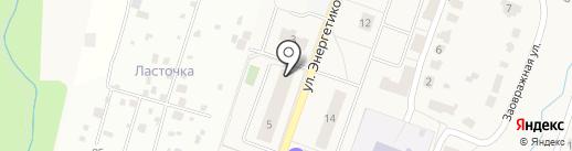 Парикмахерская на карте Дедовска