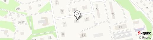 Почтовое отделение №141595 на карте Ложек