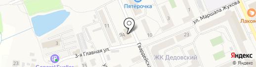 Удачный на карте Дедовска