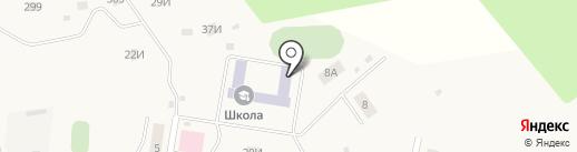 Ложковская средняя общеобразовательная школа на карте Ложек