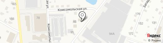 Шиномонтажная мастерская на карте Дедовска