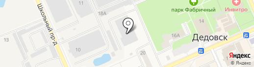 Рушар на карте Дедовска