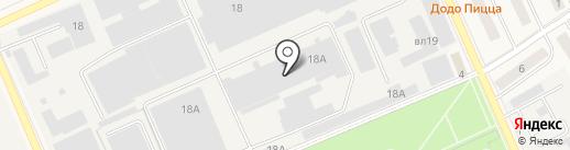 Валетек Продимпэкс на карте Дедовска