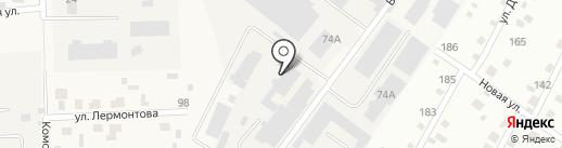 Эси на карте Дедовска