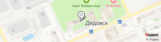 CAFE BLANCO на карте Дедовска