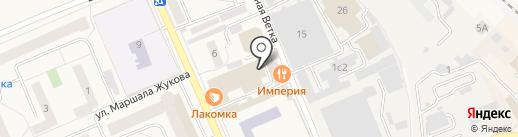 Дедовск на карте Дедовска
