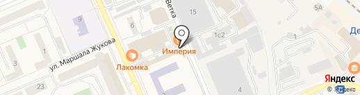 Магазин фастфудной продукции на карте Дедовска