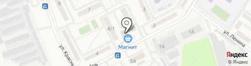 Магнит на карте Дедовска