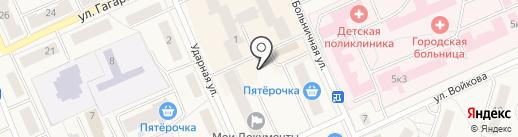 Киоск по продаже фруктов и овощей на карте Дедовска