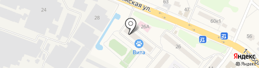Вита на карте Дедовска