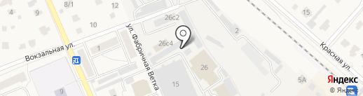 Копеечка на карте Дедовска