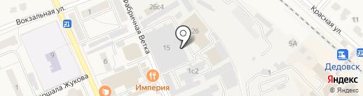 Дедовский на карте Дедовска