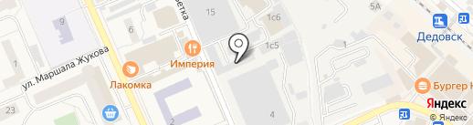 Автомойка на карте Дедовска