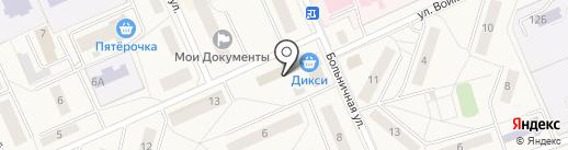 Магазин фастфудной продукции на Больничной на карте Дедовска