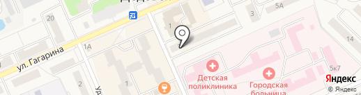 Уголовно-исполнительная инспекция Управления ФСИН России по Московской области на карте Дедовска
