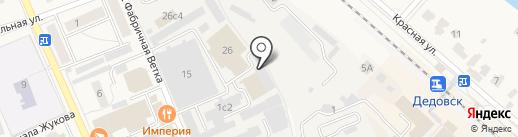 СДМ на карте Дедовска