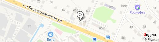 Арс-Маркет на карте Дедовска