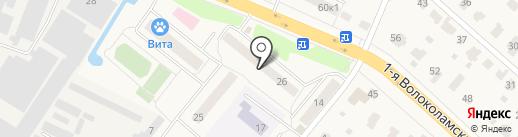 Почтовое отделение №143532 на карте Дедовска