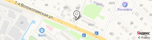 Солкар на карте Дедовска