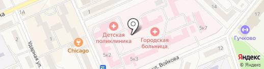 Дедовская центральная городская больница на карте Дедовска