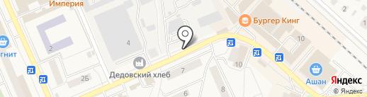 Автостоянка на карте Дедовска