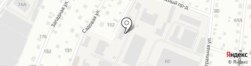 Шиномонтажный пост на карте Дедовска
