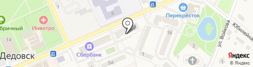 Антошка на карте Дедовска