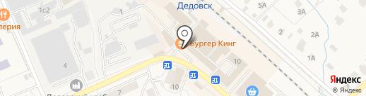 Магазин табачной продукции на карте Дедовска