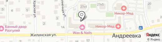 Наша органика на карте Андреевки