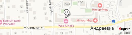 Wax & Nails на карте Андреевки