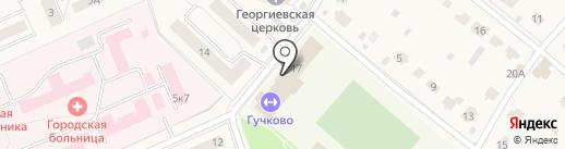 Аква на карте Дедовска