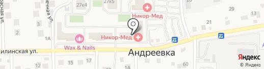 Экоокна на карте Андреевки