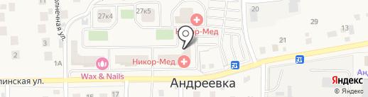 IMG на карте Андреевки