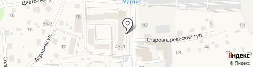 РИЭЛТ ГРУПП на карте Андреевки