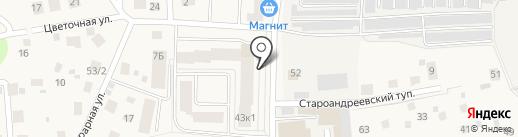 Марафет на карте Андреевки