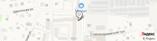Титан на карте Андреевки