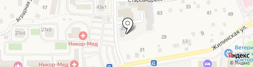 ТАХОГРАФ МАСТЕР на карте Андреевки