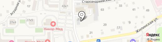 АйТи на карте Андреевки