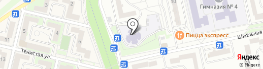 Детский сад №48 на карте Нахабино