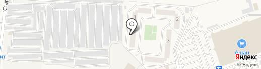 Первый Андреевский на карте Андреевки