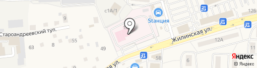 Мособлмедсервис, ГБУ на карте Андреевки