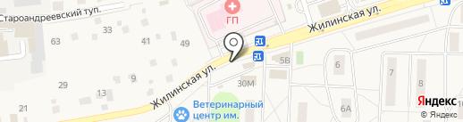 Азалия на карте Андреевки