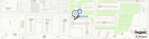 Магазин одежды для всей семьи на карте Андреевки