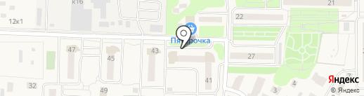 Вертикаль на карте Андреевки