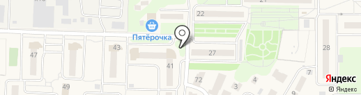 Север на карте Андреевки