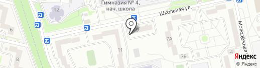 Любимый на карте Нахабино